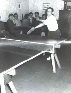 Tischtennismatch 1958